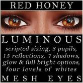 Mayfly - Luminous - Mesh Eyes (Red Honey)