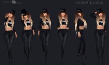 .[ pose+ivity ]. Violet Pack
