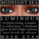 Mayfly - Luminous - Mesh Eyes (Midnight Sea)