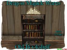 Dragon Magick Wares Old Bookshelf Mesh
