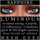 Mayfly - Luminous - Mesh Eyes (Sapphire)