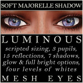 Mayfly - Luminous - Mesh Eyes (Soft Majorelle Shadow)