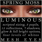 Mayfly - Luminous - Mesh Eyes (Spring Moss)