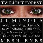 Mayfly - Luminous - Mesh Eyes (Twilight Forest)