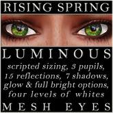 Mayfly - Luminous - Mesh Eyes (Rising Spring)