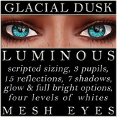 Mayfly - Luminous - Mesh Eyes (Glacial Dusk)