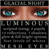 Mayfly - Luminous - Mesh Eyes (Glacial Night)