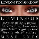 Mayfly - Luminous - Mesh Eyes (London Fog Shadow)