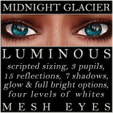 Mayfly - Luminous - Mesh Eyes (Midnight Glacier)