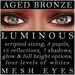 Mayfly   luminous   mesh eyes %28aged bronze%29