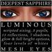 Mayfly   luminous   mesh eyes %28deepest sapphire%29