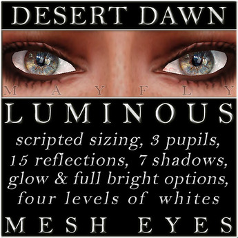 Mayfly - Luminous - Mesh Eyes (Desert Dawn)