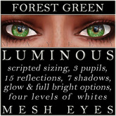Mayfly - Luminous - Mesh Eyes (Forest Green)