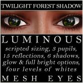 Mayfly - Luminous - Mesh Eyes (Twilight Forest Shadow)