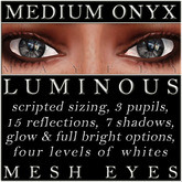Mayfly - Luminous - Mesh Eyes (Medium Onyx)