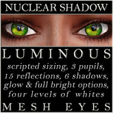 Mayfly - Luminous - Mesh Eyes (Nuclear Shadow)