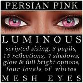 Mayfly - Luminous - Mesh Eyes (Persian Pink)