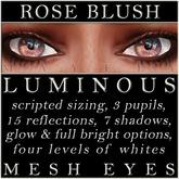 Mayfly - Luminous - Mesh Eyes (Rose Blush)