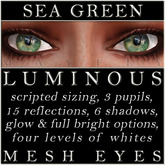 Mayfly - Luminous - Mesh Eyes (Sea Green)