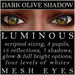 Mayfly   luminous   mesh eyes %28dark olive shadow%29