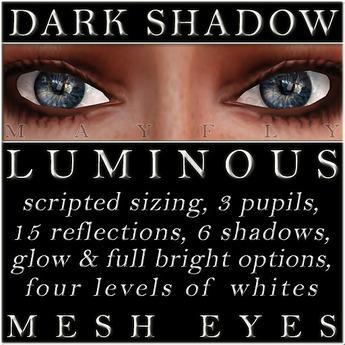 Mayfly - Luminous - Mesh Eyes (Dark Shadow)