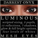 Mayfly   luminous   mesh eyes %28darkest onyx%29