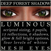 Mayfly - Luminous - Mesh Eyes (Deep Forest Shadow)