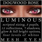 Mayfly - Luminous - Mesh Eyes (Dogwood Rose)