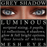 Mayfly - Luminous - Mesh Eyes (Grey Shadow)