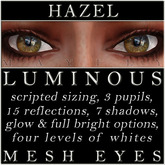 Mayfly - Luminous - Mesh Eyes (Hazel)