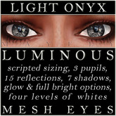 Mayfly - Luminous - Mesh Eyes (Light Onyx)