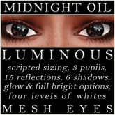 Mayfly - Luminous - Mesh Eyes (Midnight Oil)