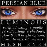 Mayfly - Luminous - Mesh Eyes (Persian Blue)