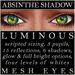 Mayfly   luminous   mesh eyes %28absinthe shadow%29
