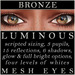 Mayfly   luminous   mesh eyes %28bronze%29