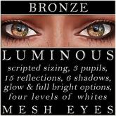 Mayfly - Luminous - Mesh Eyes (Bronze)