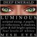 Mayfly   luminous   mesh eyes %28deep emerald%29