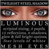 Mayfly - Luminous - Mesh Eyes (Twilight Steel Shadow)
