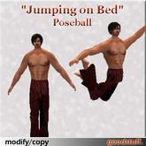 "Copyable ""Jumping on Bed"" Poseball by goodstuff."