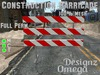 Construction Barricade (Mesh) Full Perm