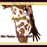 The Seventh Exile - Dipped! Gloves: Slink Physique Appliers: Dark Chocolate