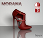 *Liaison* Morana High Heel (lipstick red)