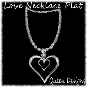 Love Necklace Plat