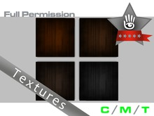 KUBRIC FLUX - Full Perm - Shaded Dark Wood Textures