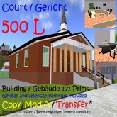 Gericht / Court (boxed)