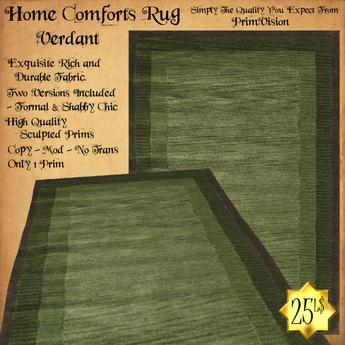 *PV* Home Comforts Area Rug - Verdant