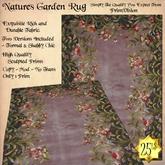 *PV* Natures Garden Rug