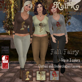 {KT} Fall Fairy Top - PHYSIQUE AND LENA BODY ONLY