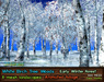 21strom White Birch Forest Early Winter - 8 animated mesh landscapes