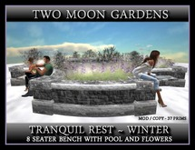 TRANQUIL REST IN WINTER - SITS 8 AVATARS
